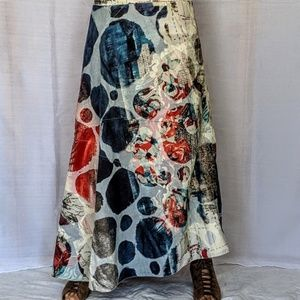 Legatte jeans maxi skirt amazing 8 Made in Italy
